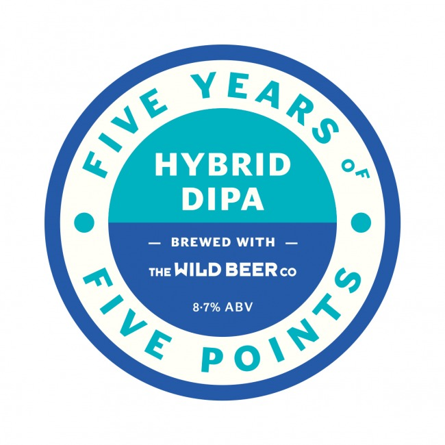 The keg clip for Five Points Hybrid DIPA