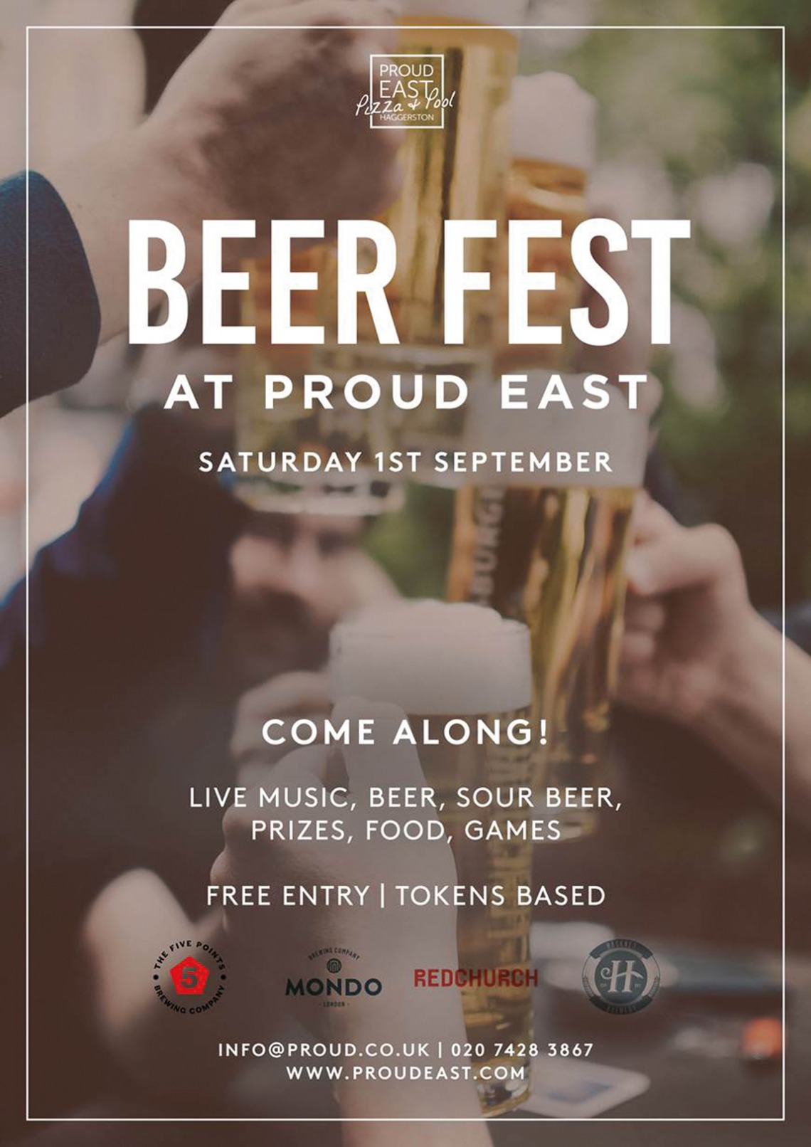 Proud East Beer Festival